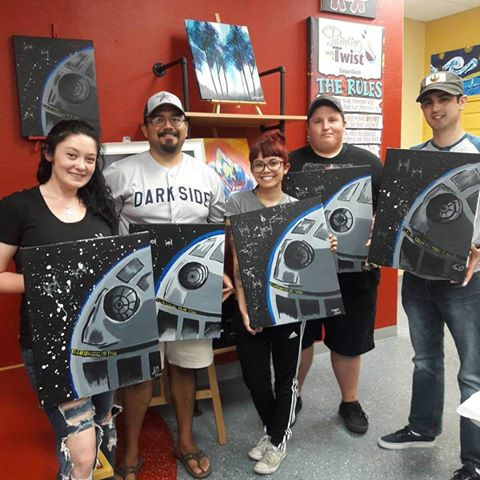 Team Building Painting